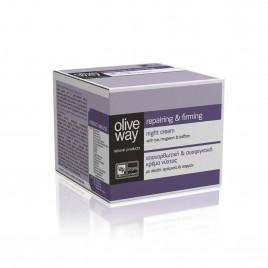 Oliveway opbyggende og opstrammende natcreme