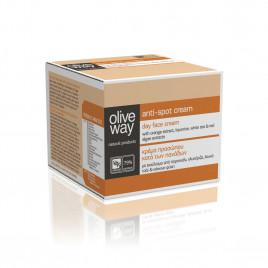 Oliveway anti-spot creme med UV besyttelse
