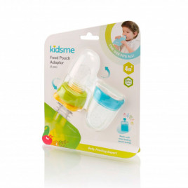 KIDSME FOOD POUCH ADAPTOR - DOUBLE PACK