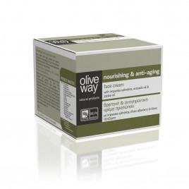 Oliveway nærende anti-aging ansigtscreme
