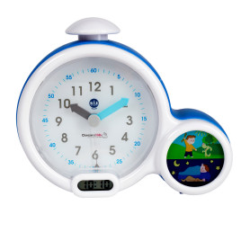 CLAESSENS KIDS - KID'SLEEP CLOCK BLÅ