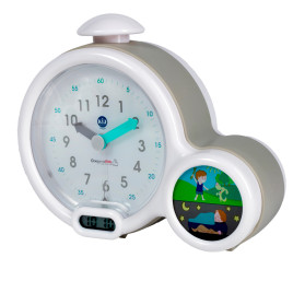 CLAESSENS KIDS - KID'SLEEP CLOCK GRÅ