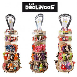 DÉGLINGOS TOWER DISPLAY