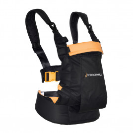 MINIMONKEY BABYCARRIER DYNAMIC Sort/Orange