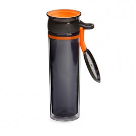 WOW Sports bottle BLACK/ORANGE 600ml