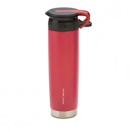 WOW Sports bottle RED 650ml stainless steel