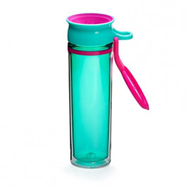 WOW Sports bottle TURQUOISE/BLACK 600ml