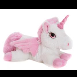 HABIBI varmebamse - Pegasus med horn, Stor - med aftagelig betræk